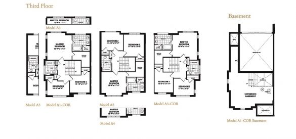 Taunton Gate Block 1 Floor Plans 2