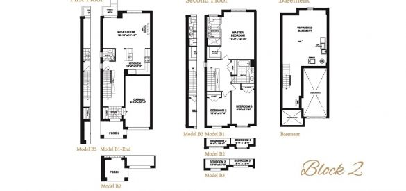 Taunton Gate Block 2 Floor Plans